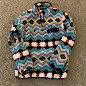 Patterned Patagonia fleece